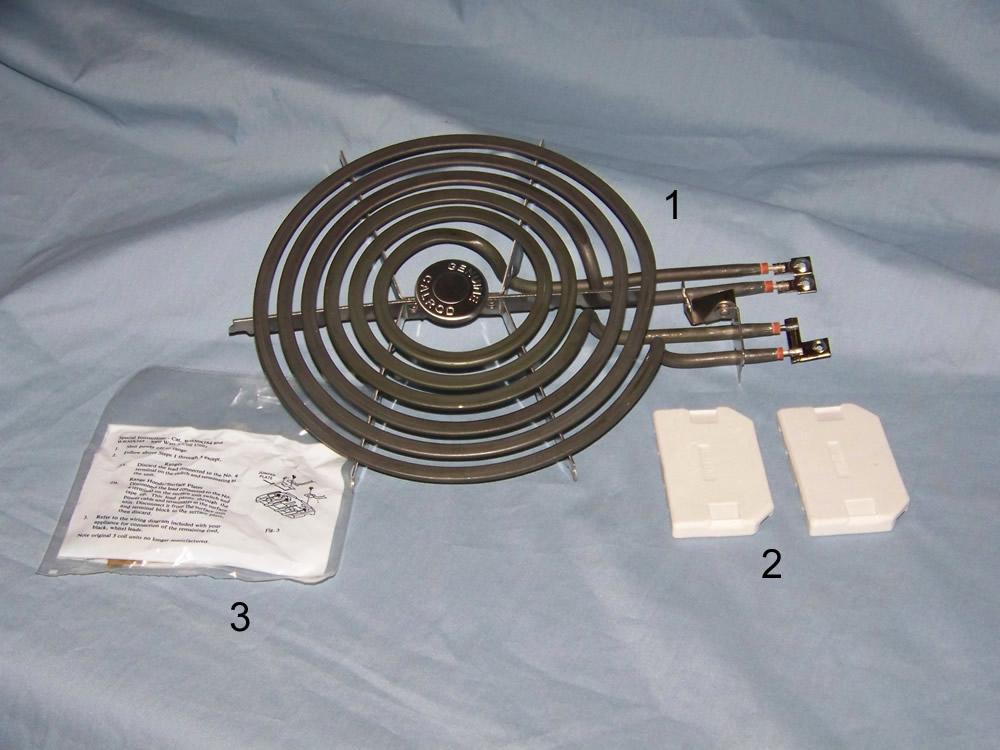 [SCHEMATICS_4PO]  Large GE Surface Burner NT | Wiring Diagram For Ge Stove Burners |  | Antique Appliances
