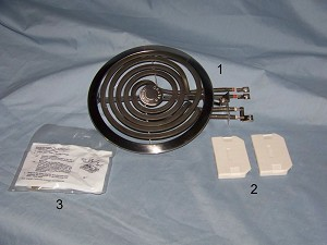 Small GE Surface Burner WT