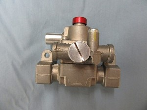Thermomagnetic Safety Valve